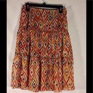 Dressbarn Skirt With Lining Size 6